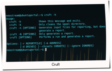 2 App cleanup manager file system in ubuntu - cruft