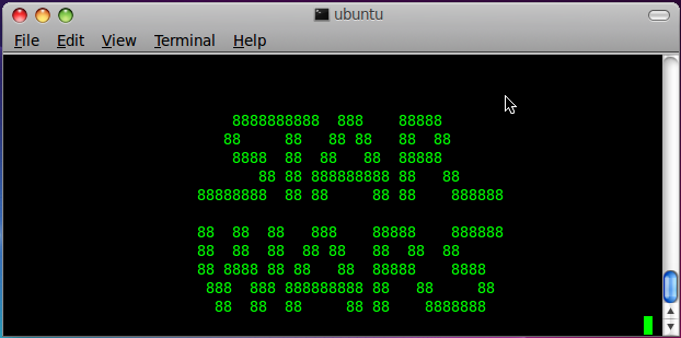 star wars ubuntu 11 10 Watch ASCII Star Wars movie on terminal ubuntu 11.10