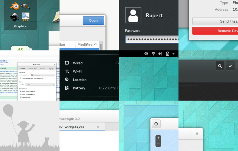 rounding things out GNOME 3.12 is Released : Come with New Look and Performance Improvements