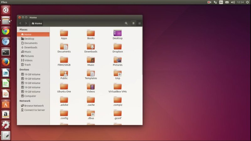 minimize on click ubuntu 14.04