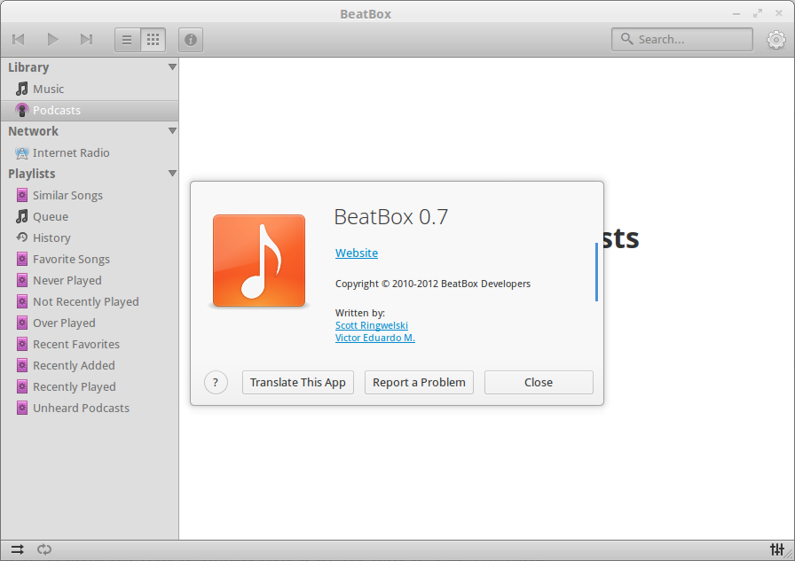 BeatBox 0.7 Install New BeatBox 0.7 Music Player in Ubuntu 12.10