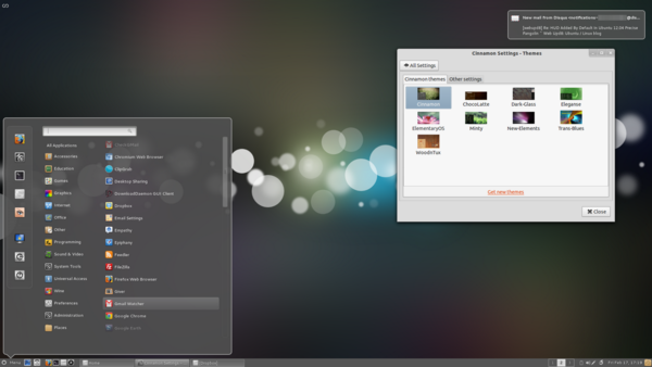 Cinnamon 1.3 Released Comes With New Look and Includes the GNOME Tweak Tool features Cinnamon 1.3 Released : Comes With New Look and Includes the GNOME Tweak Tool features