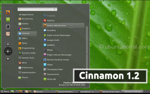 Cinnamon1.2 The New Desktop Environment For Linux has been Release comes with 7 Key Additions and Changes Cinnamon 1.2: The New Desktop Environment for Linux has been Release comes with 7 Key Additions and Changes
