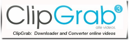 ClipGgrab downloader and converter online videos ClipGrab:  Downloader and Converter online videos