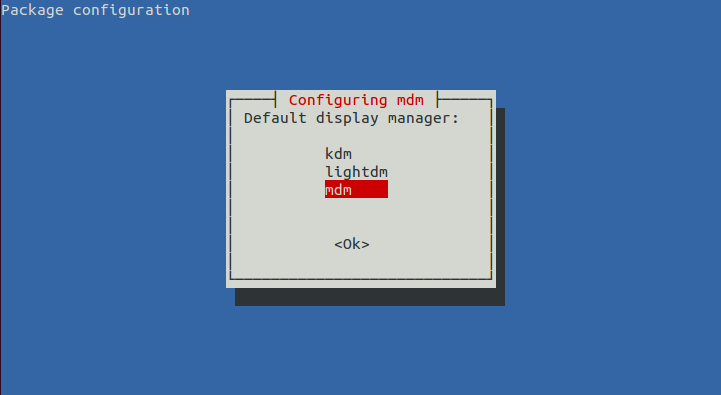 Configure display manager Mint Display Manager (MDM)1.0.6 Available For Ubuntu 12.10/12.04