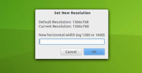 How to Increase Resolution Beyond Monitor's Limit on Ubuntu using Newrez set resolusion How to Increase Resolution Beyond Monitor's Limit on Ubuntu using Newrez