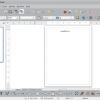 LibreOffice 4.0 Draw on Ubuntu