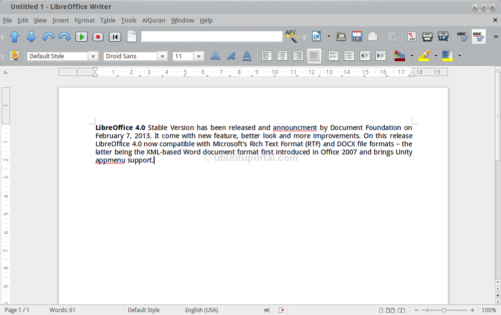 Libreoffice 4 0 stable version available for download - Office writer free download ...