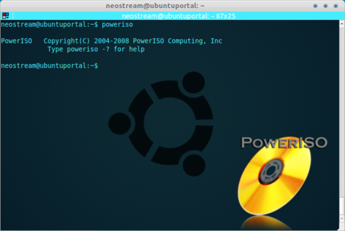 PowerISO Powerful Command Line Tool for CD DVD and BD Image File Processing How To Install and use PowerISO via Command Line in Ubuntu PowerISO: Powerful Command Line Tool for CD, DVD and BD Image File Processing   How To Install and Using PowerISO via Command Line in Ubuntu