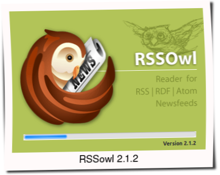 RSSOwl 2.1.2 The Best News Feed Reader for Ubuntu Linux RSSOwl 2.1.2: The Best News Feed Reader for Ubuntu/Linux