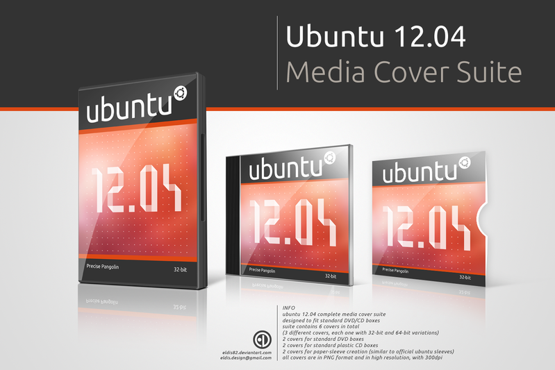 Ubuntu 12.04 Cover Media Suite Download Ubuntu 12.04 LTS Media Cover Suite