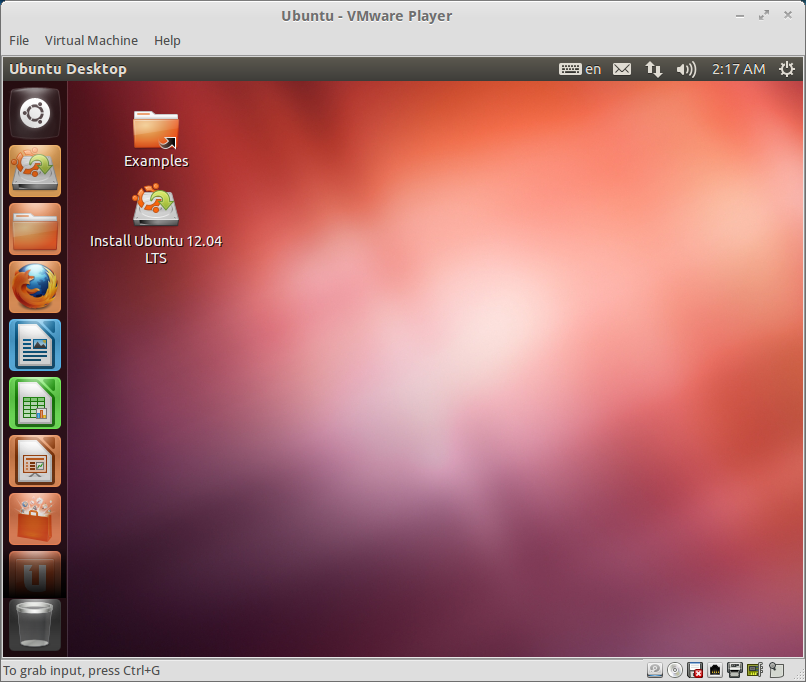 Ubuntu 12.04 - VMware Player
