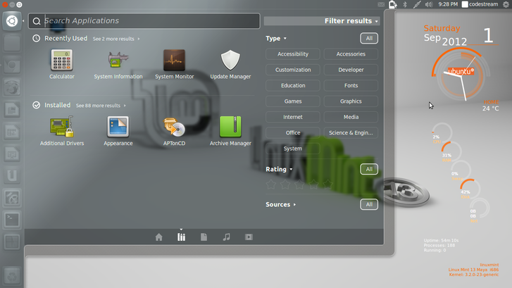 Unity on Linux mint 13 maya How to Install Unity Desktop on Linux Mint 13 Maya