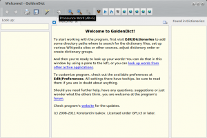 Welcome GoldenDict 042 300x200 GoldenDict: Complete Dictionary App for Ubuntu Based Distribution
