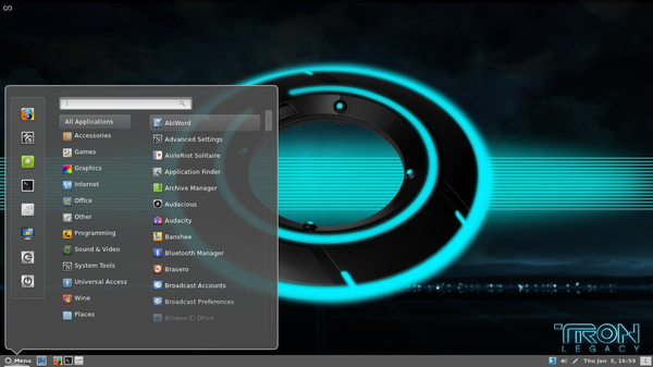 Workspace 1 048 Cinnamon 1.1.3 has been Released : Comes with Gnome2 Like Panel