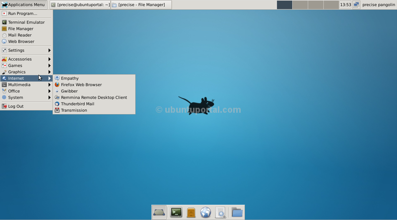 XFCE 4.10 on Ubuntu 12.04 LTS Precise Pangolin