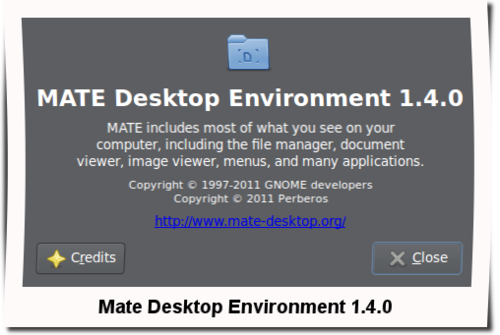 mate desktop environment 1.4
