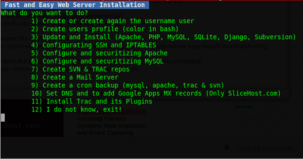 install web server fast and easily on ubuntu using bash script server-easy-install