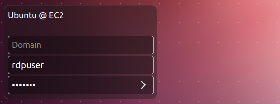 ubuntu 12.10 remote desktop login