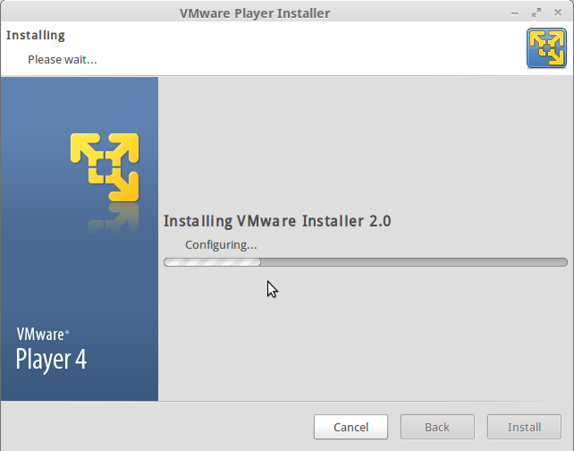 vmware installation wizard